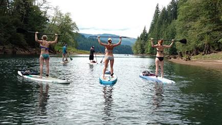 One Lane Bridge Lake Merwin WOMEN'S GROUP PADDLE-FIT CLASSES 4pm July 1st