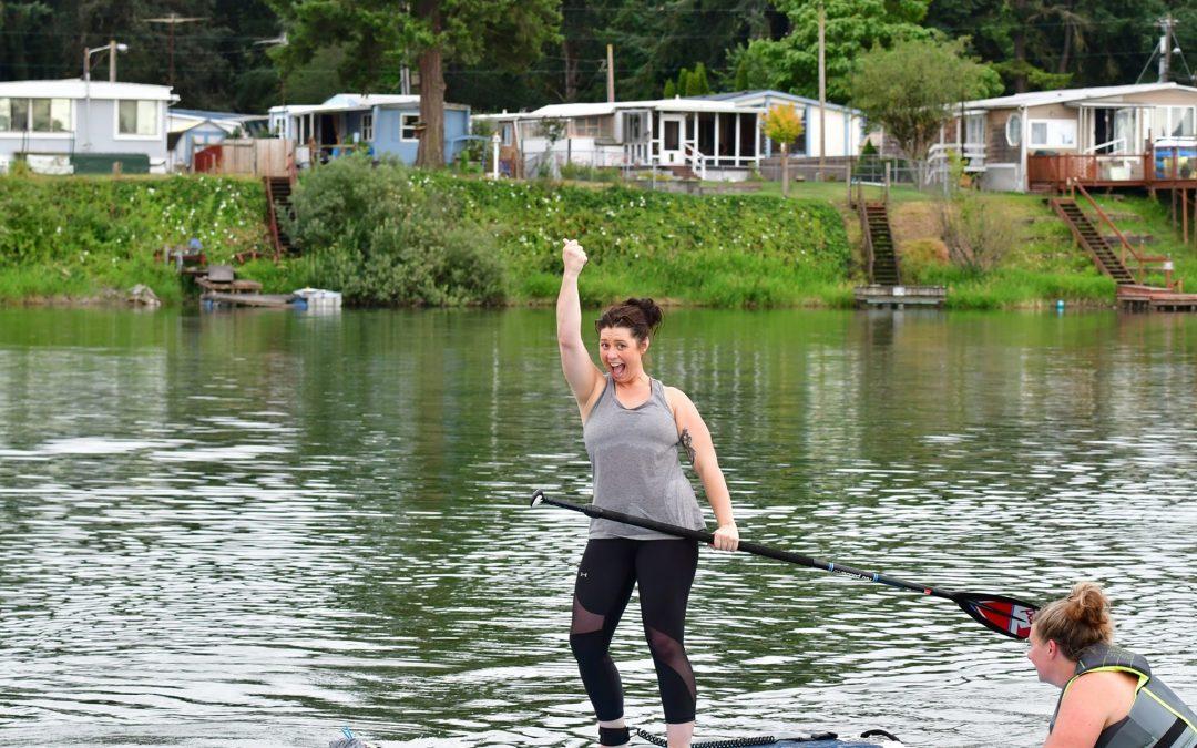 "Horseshoe Lake in Woodland Wa WOMEN'S PADDLE-FIT CLASSES ""Cardio & Core Strength"" 4pm July 28th"