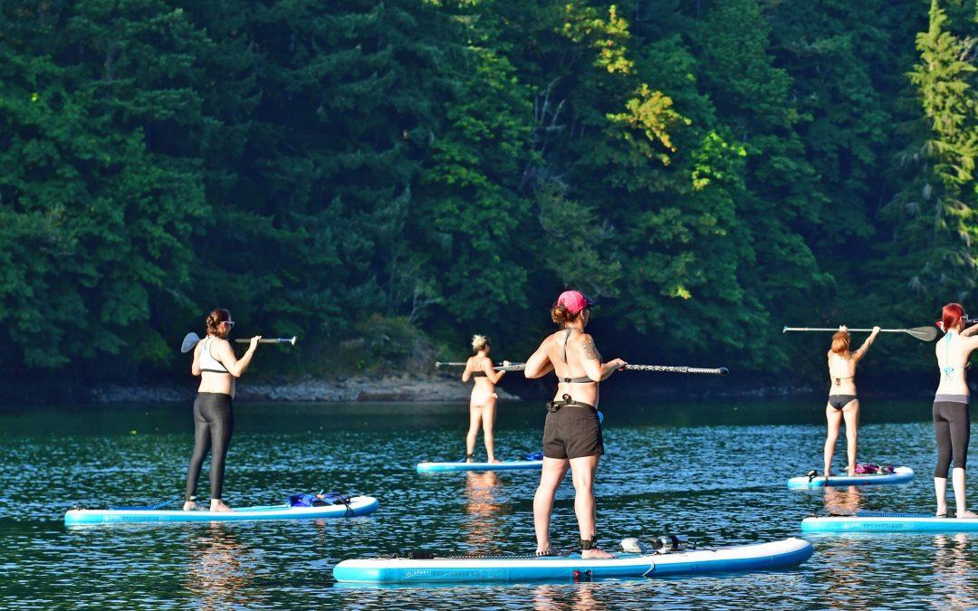 One Lane Bridge Lake Merwin WOMEN'S GROUP PADDLE-FIT CLASSES 6pm July 14th