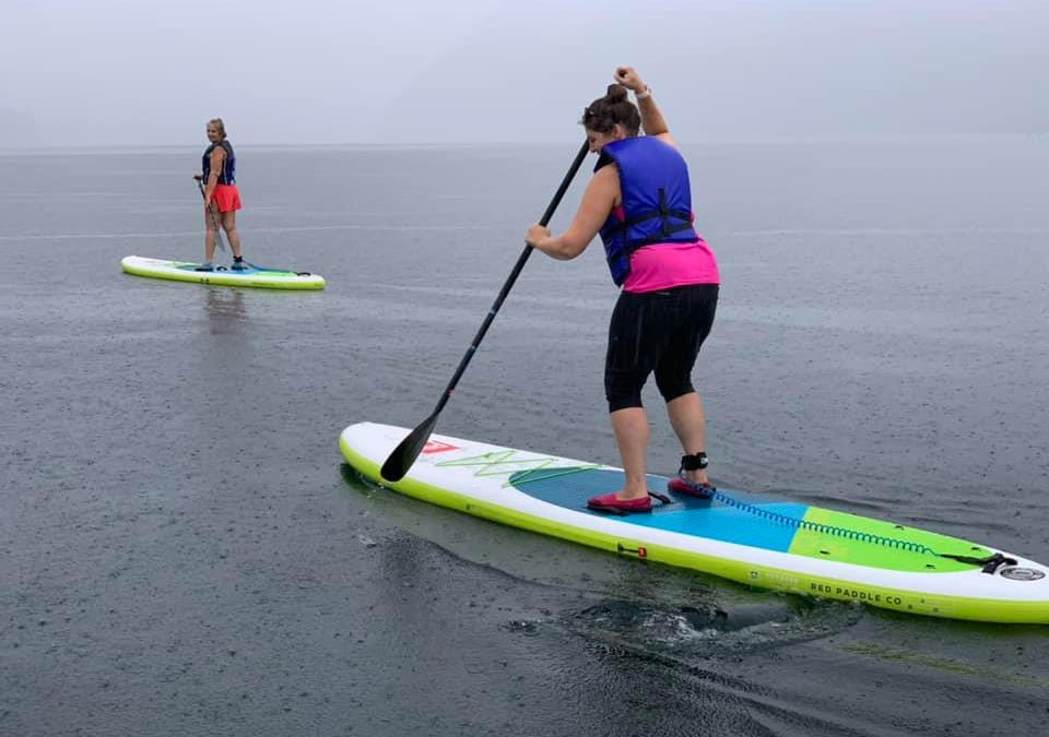 Women's Group Paddle Fitness Class with Michelle at Yale Park 4pm July 29th