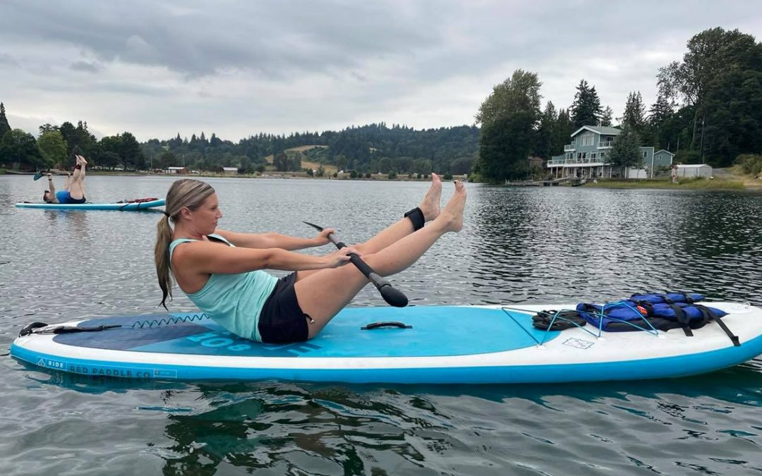 """Horseshoe Lake in Woodland Wa WOMEN'S PADDLE-FIT CLASSES """"Cardio & Core Strength"""" 6pm August 11th"""